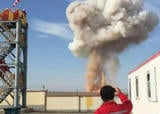 Test of explosion and fracture control of PetroChina pipeline.